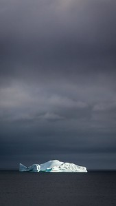 ICEBERG NEAR CUVERVILLE ISLAND