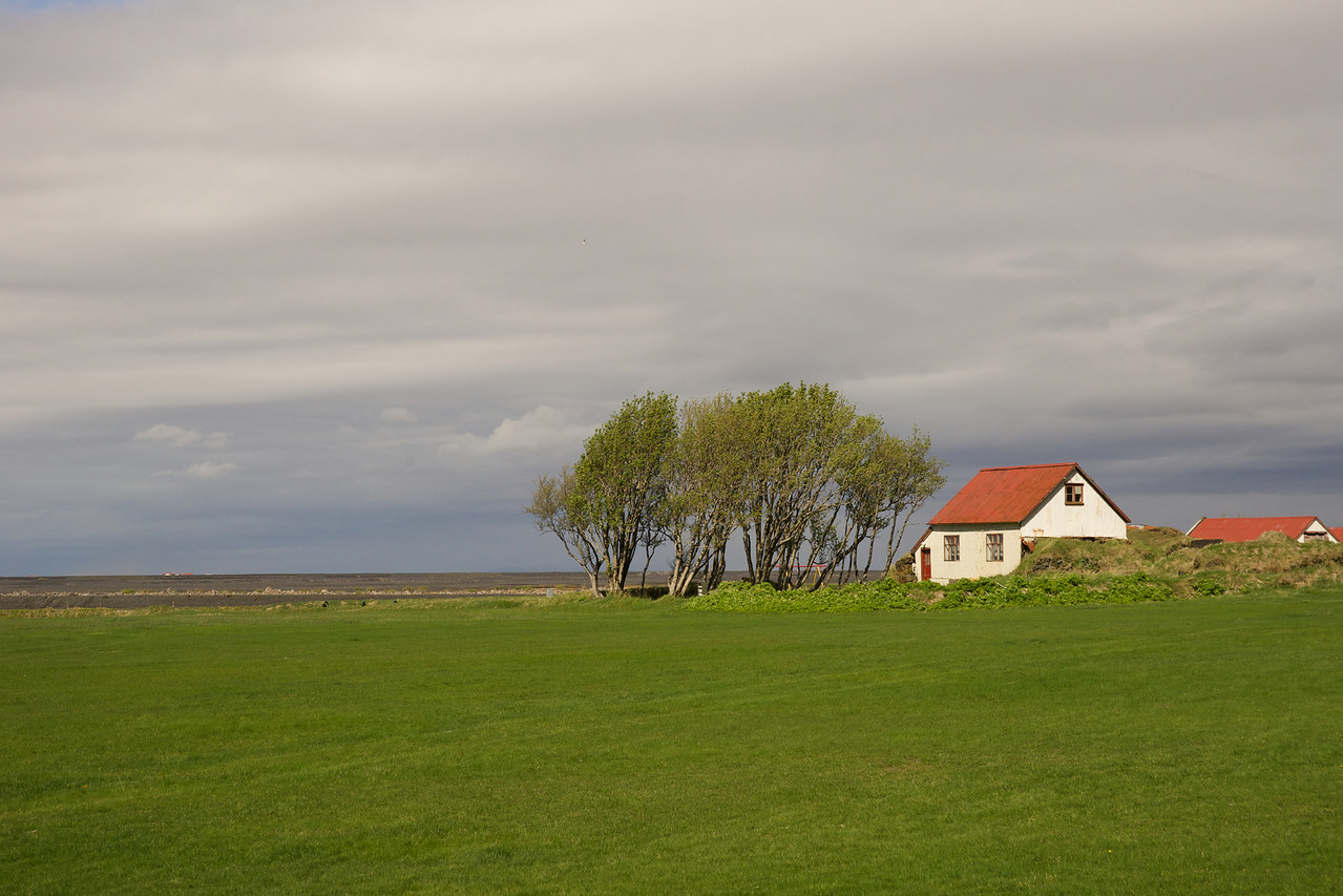 Farm near Seljalandsfoss