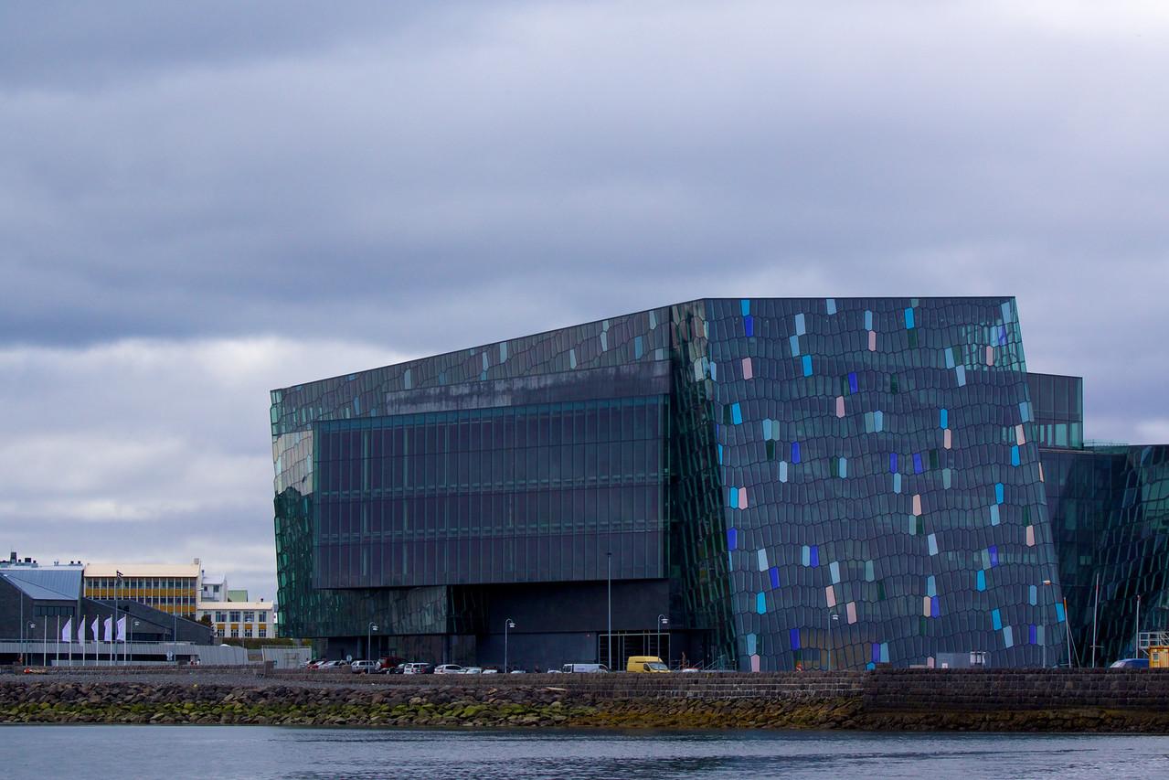 Harpan Concert Hall Reykjavik