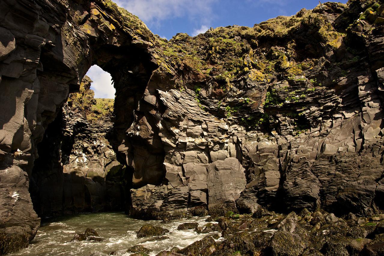 Coastal Arch Hellnar