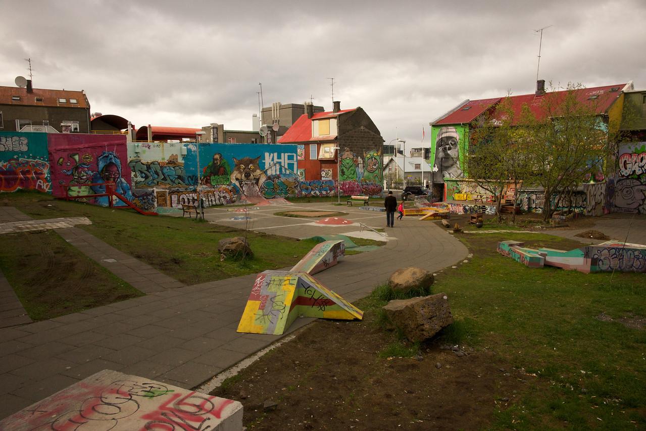 Skateboard Park Reykjavik
