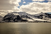 Mountainous Svalbard Coastline