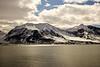 Mountainous Svalbard Coastline