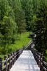 Wooden footway