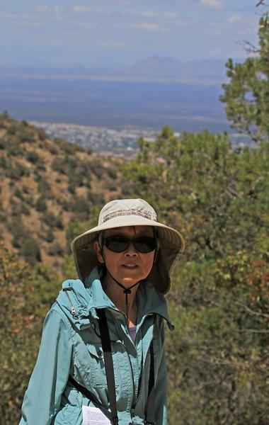 Ramsey Canyon Overlook - 6,200 feet.