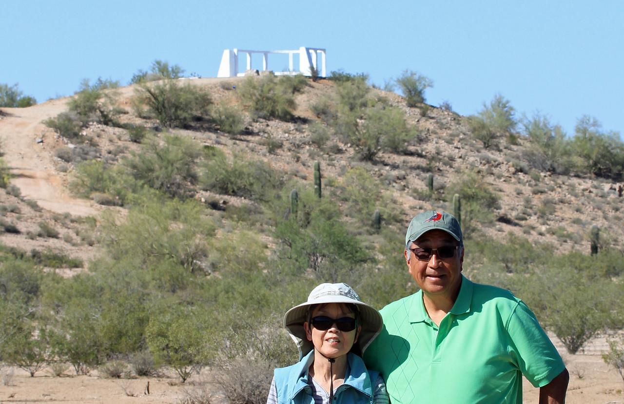 Karen and Shiz at Monument
