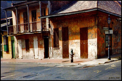 Toulouse Street New Orleans 1993