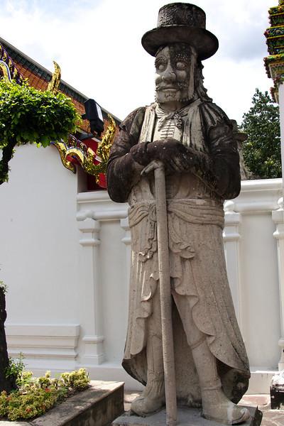 Chinese Statue - Temple of the emerald Buddha - Bangkok
