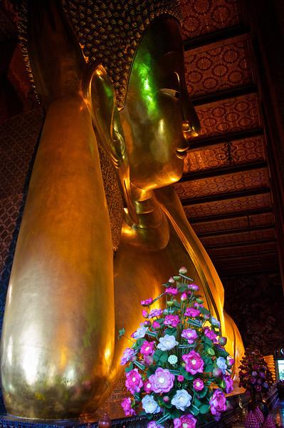 Reclining Buddha - Temple of the Emerald Buddha, Bangkok