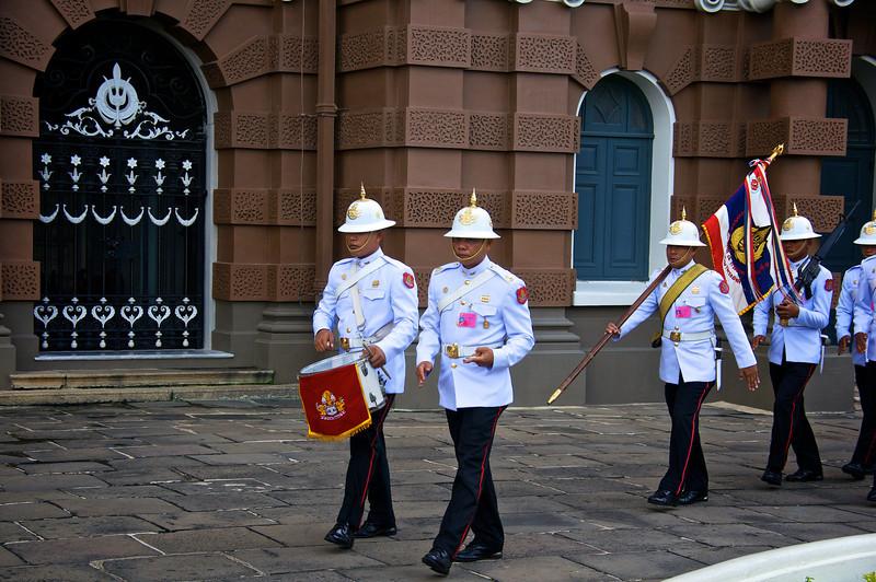 Changing of the Guard, Grand Palace- Bangkok