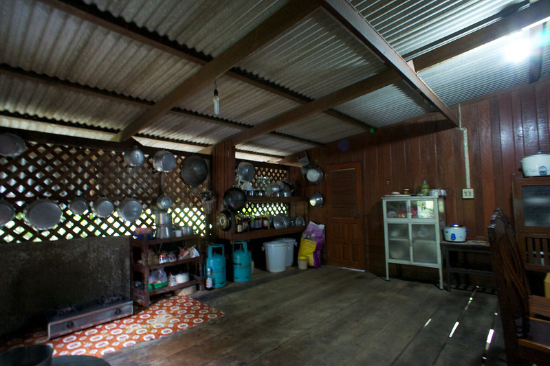 Home on a coconut Plantation Mae Kong southwest of Bangkok