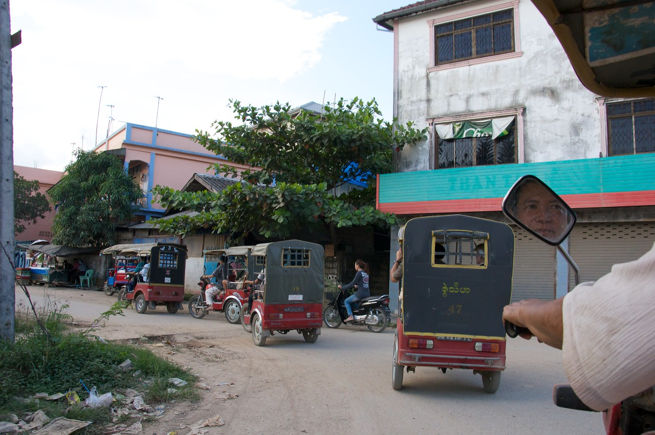 The Great Myanmar Taxi Race