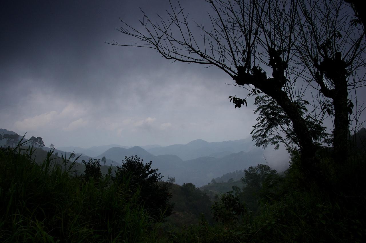 Looking towards Myanmar