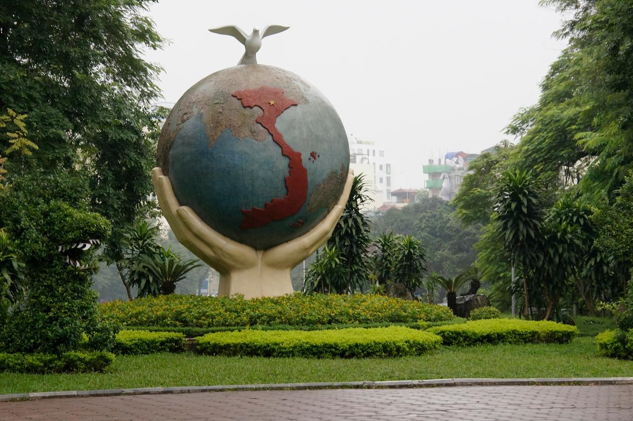 Statue Dragon park Hanoi
