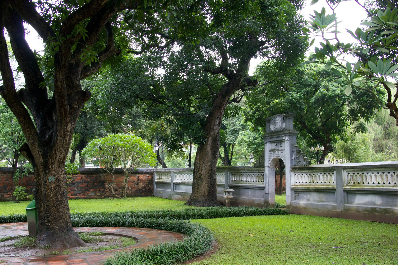 Van Mieu - the temple of literature founded in 1076