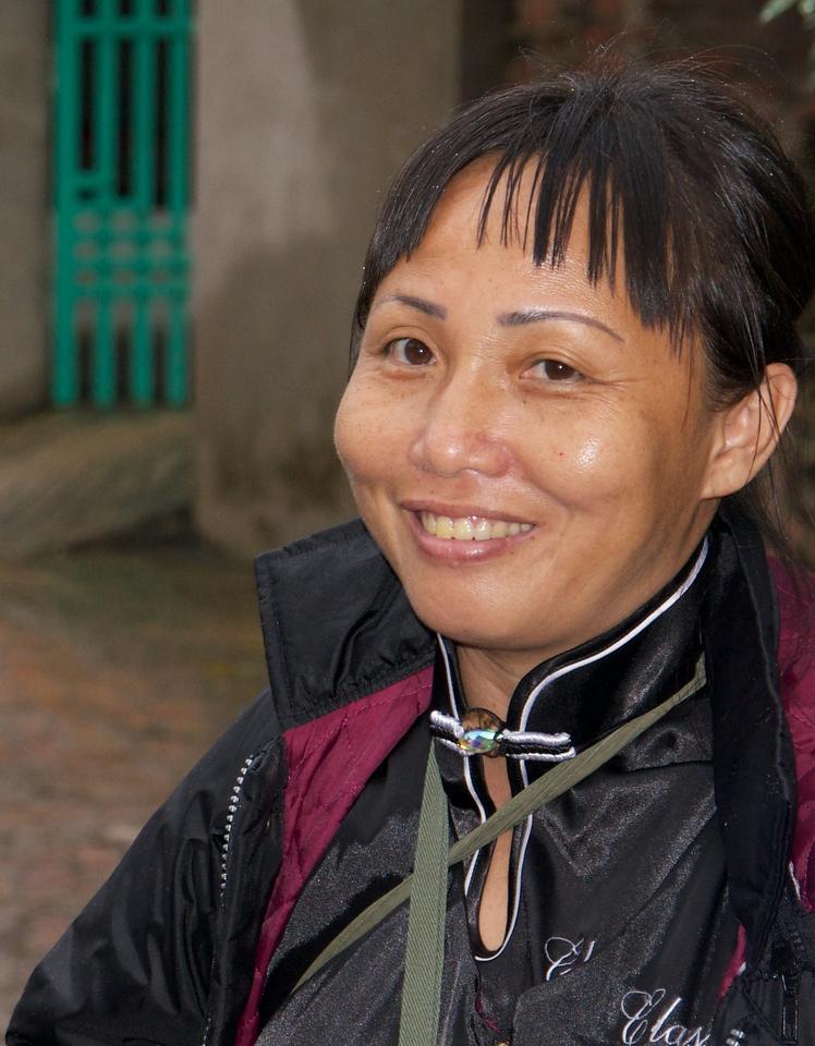 Mai our guide in Vietnam.