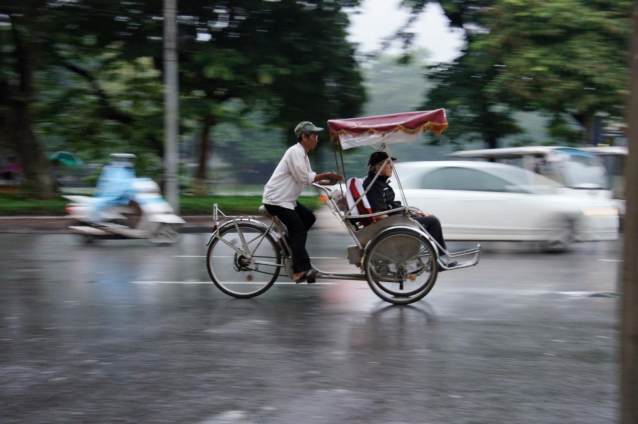 Pedicab Hanoi