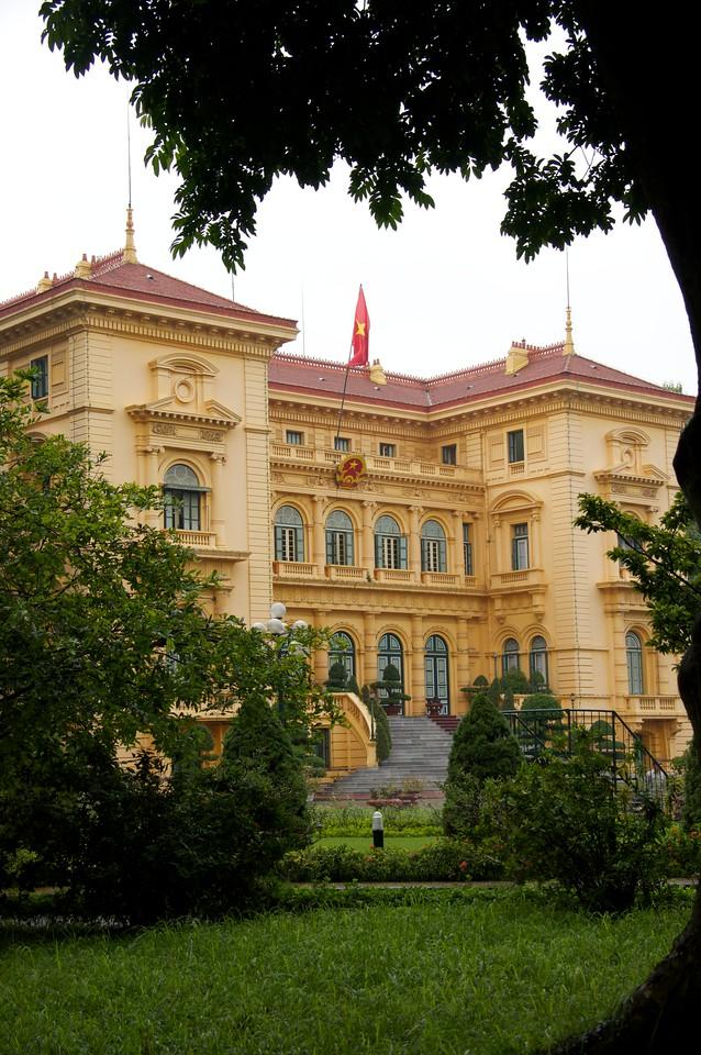Former palace Hanoi