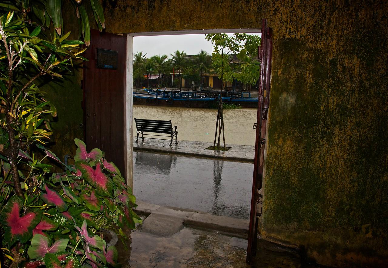 View through the back door, Hoi An