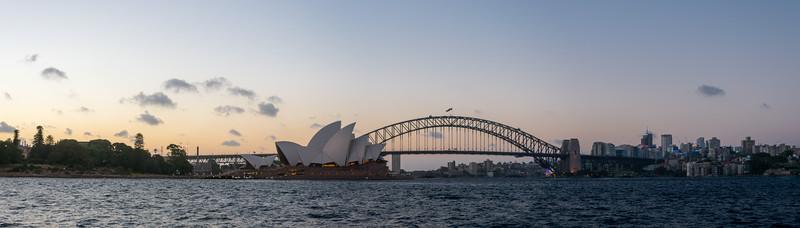 Sydney Skylight at Sunset