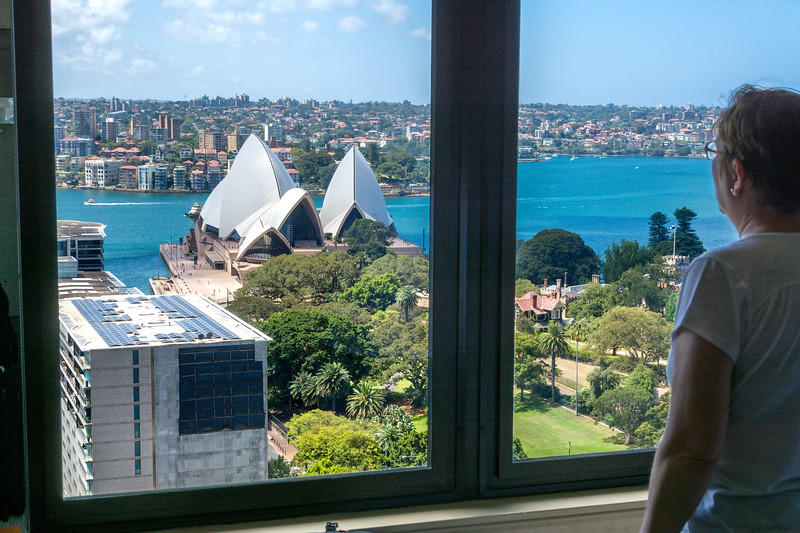 View from Sydney Hotel Window