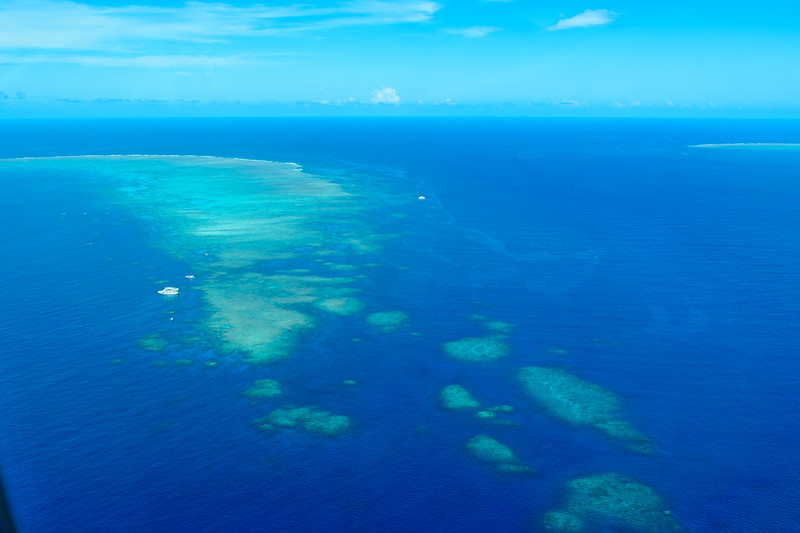 Hastings Reef from the Air