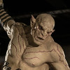 Azog Statue in Weta Cave