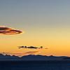 New Zealand Coast at Sunset