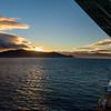 Sunset Over New Zealand