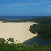 Lake Wobby, on Fraser Island.