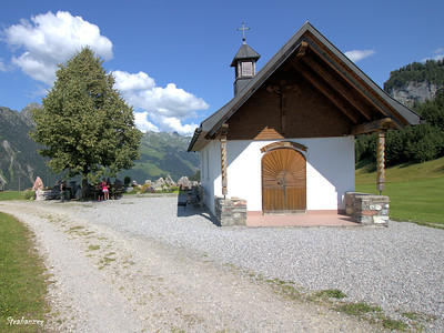 Rosenkranzkapelle Steinbild, Sonntag-Stein,  Vorarlberg, Austria, 08/16/2018 This work is licensed under a Creative Commons Attribution- NonCommercial 4.0 International License