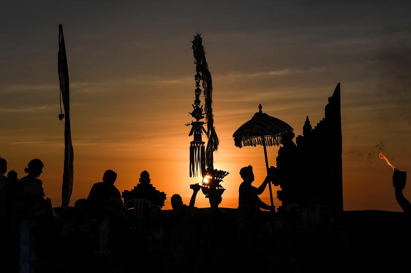 Balinese Kechak Performance