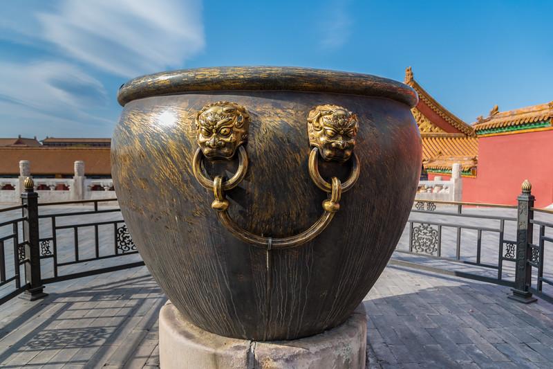 Bronze Water Jar