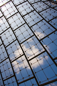 Grid with Clouds