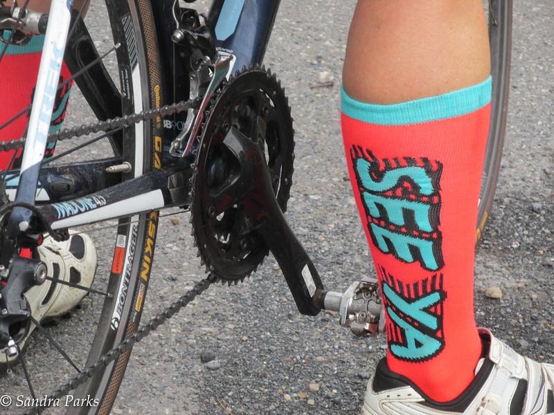 Corrie's socks