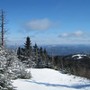 view from gore mtn, north creek NY