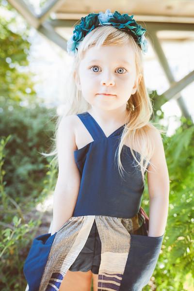 Blue Hepburn Dress - Bandit
