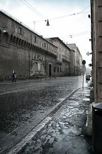 Rain Bolognese, Bologna, Italy
