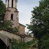 A church bell tower in Kalofer.