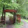 "Fairy-tale-like entrance to the Byala Reka (""white river"") trail inside the park."