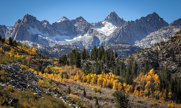 Inyo National Forest (part of the Great Sierra Mountains), California