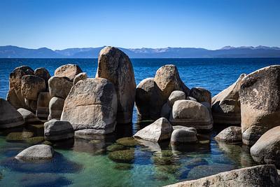 The Blue Lake. - Lake Tahoe