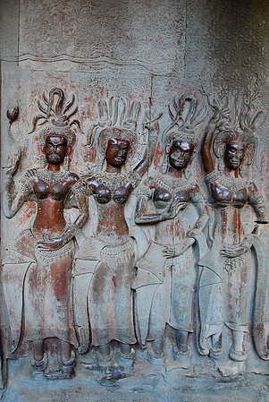 Religious women were used to touch the breasts and heads of this figures in the hope to be more healthy and fertile.