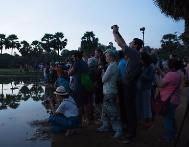 Dawn over Angkor Wat
