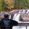 Joe Shooting LePreau Falls
