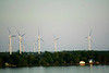 Turbines on an Island