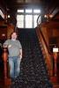 John on Staircase