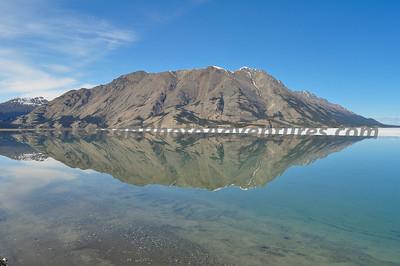 Kluane Lake, Yukon. Just had to stop here.