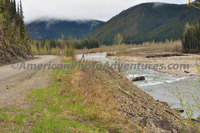 Spring along the Alaska Highway in British Columbia