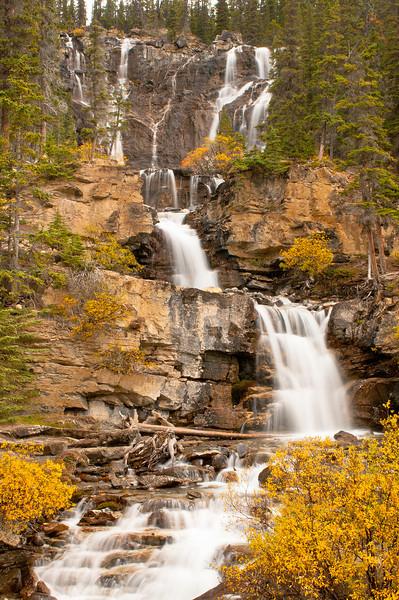 TRCA-11076: Tangle Falls in Jasper National Park